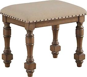 Winners Only Upholstered Vanity Stool - DX1457G