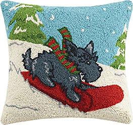 Peking Handicraft Pop Art Cat Hook Pillow Multicolored