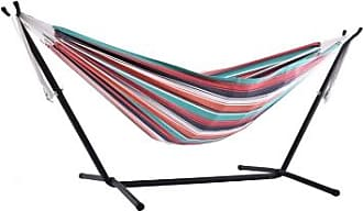 Ashley Furniture Patio Double Hammock with Stand, Plumeria