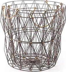 Ashley Furniture Wired Modern Basket (Set of 3), Antique