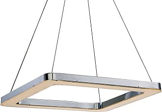 Eurofase Lighting 30061 Zatina 1 Light LED Full Sized Pendant Chrome