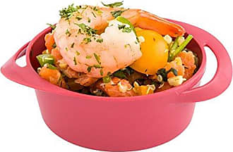 Restaurantware Mini Pot, Plastic Mini Pot, Infinity - Red - 2.5 oz - 100ct Box - Restaurantware