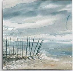 WEXFORD HOME Subtle Mist II Gallery Wrapped Canvas Wall Art, 24x24, Carol Robinson