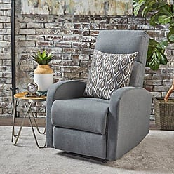 GDF Studio Christopher Knight Home 301402 Giovanni Recliner, Charcoal
