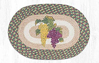 Earth Rugs PMS-575G-4 Set of Placemats, Green