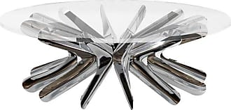 Zieta Limited Edition Rotation Coffee Table In Polished Stainless Steel