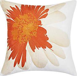 Revman International Trina Turk USHSA71050623 Palm Desert Daisy Throw Pillow, 20-inch, Medium Orange