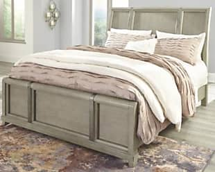Ashley Furniture Chapstone King Sleigh Bed, Gray
