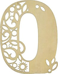 Enesco Flourish Number 0 Plaque, 3.02-Inch