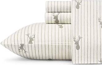 Revman International Eddie Bauer 223680 Deer Lodge Sheet Set, King, Beige