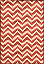 Linon Linon Claremont Collection Chevron Synthetic Rugs, 8x102, Terracotta