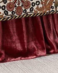 Dian Austin Couture Home Maximus Medallion Adjustable Velvet Dust Skirt