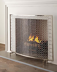 Interlude Home Sabrina Fireplace Screen