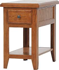American Heartland Oak Chair Table - 43314MD