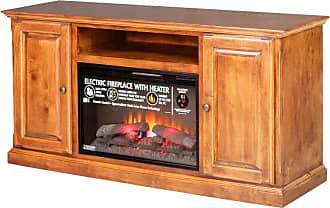 Forest Designs Traditional Alder Fireplace TV Stand Unfinished Alder, Size: 72 in. - B4475- TAU-72W-UA