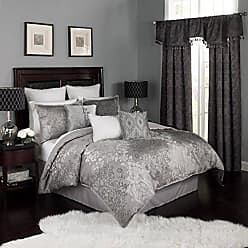Ellery Homestyles Beautyrest Chacenay Comforter Set, King, Pewter
