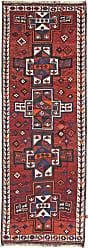 Nain Trading Handknotted Lori Rug 116x45 Dark Grey/Purple (Wool, Iran/Persia)