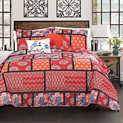 Lush Décor Meridian Patchwork 5 Piece Quilt Set by Lush Decor, Size: King - 16T001671