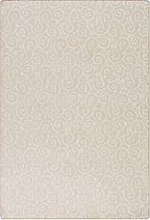 Milliken Carpet 4000126054 Imagine Figurative Collection Lyrical Area Rug, 78 x 109, Soft Ecru