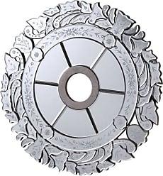 Elegant Lighting Mirror Medallion D24 SC