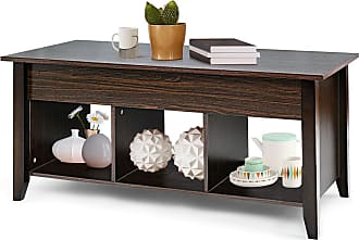Costway Lift Top Coffee Table with Hidden Compartment Storage Shelf