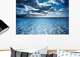 Wallmonkeys WM106355 Dreamy Beach Scene Peel and Stick Wall Decals (24 in W x 16 in H), Medium
