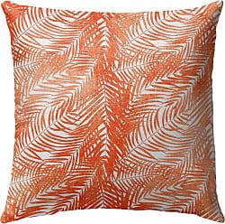 Kavka Designs Orange Palm Outdoor Pillow - OPI-OP16-16X16-TEL8478