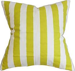 Artist Green The Pillow Collection P18-PP-WILLOW-ARTISTGREEN/_SLUB Thirza Swirls Pillow