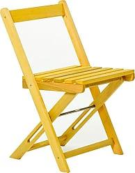 Mão & Formão Cadeira Dobrável Boteco - AmarelaAmarelo