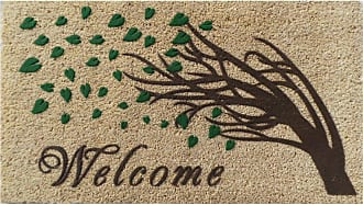 First Impression Welcome Tree Flocked Outdoor Door Mat - A1HOME200071