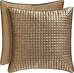 Five Queens Court Gordon - Coverlet Euro Quilted Sham, Gold