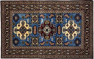 Solo Rugs Hand Knotted Area Rug 40 x 63 Blue