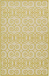 Kaleen Rugs Five Seasons Collection Gold Rug (26 x 710)