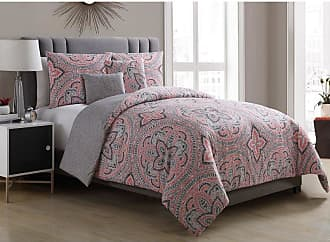VCNY Allison Medallion 5 Piece Reversible Comforter Set by VCNY Home, Size: Full/Queen - ALL-5CS-FUQU-IN-Z6