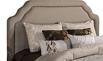 Hillsdale Furniture 1933HK Carlyle Headboard with Frame, King/California King, Light Taupe