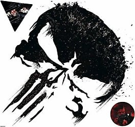 RoomMates The Punisher Peel and Stick Giant Wall Decal - RMK3936GM