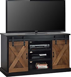 Legends Furniture 56 Black And Tan Farmhouse TV Console
