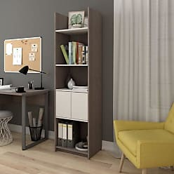 Bestar Small Space Bookcase With 2 Doors