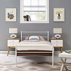 ModWay Modway Alina Twin Size Platform Bed Frame In White