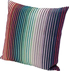 Missoni Home Missonihome Tunisi Cushion With Multi-color Stripe Print