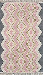 Momeni Rugs Novogratz by Momeni INDIOIND-1PNK237A Indio 100% Wool Hand Made Contemporary Area Rug, 23 X 710 Runner, Pink
