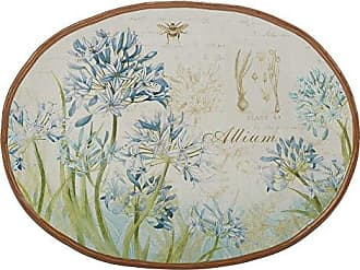 Certified International 23637 16 x 12 Herb Blossoms Oval Platter, One Size, Multicolor