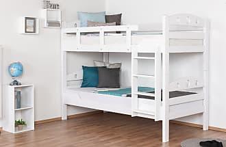 Etagenbett Teilbar Massiv : Weiß etagenbetten und weitere hoch günstig