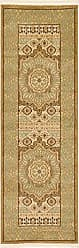 Unique Loom Palace Collection Traditoinal Geometric Classic Cream Runner Rug (2 x 6)