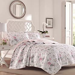 Laura Ashley Breezy Floral Pink Quilt Set by Laura Ashley, Size: Full/Queen - 222278