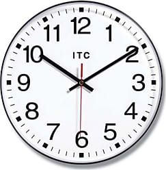 Infinity Instruments Basic 12-Inch Traditional Wall Clock Black - 90/1201