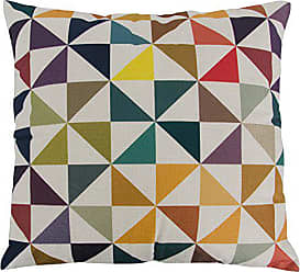 Varaluz Casa 420A01 Colorful Triangles Square Throw Pillow - Multicolored