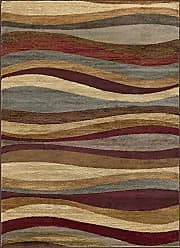 Tayse Norfolk Contemporary Abstract Multi-Color Rectangle Area Rug, 7.6 x 10