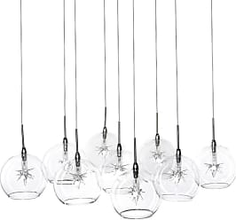 ET2 E20106 Starburst 16 9 Light Pendant Clear Stars Indoor Lighting