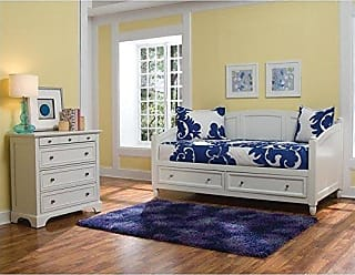 Home Styles Naples White Storage Daybed & Chest by Home Styles